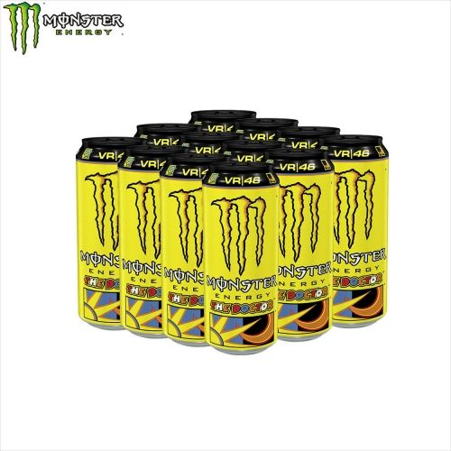 MONSTER ENERGY DRINK 12X500ml. VALENTINO ROSSI DOCTOR  (6000g.)