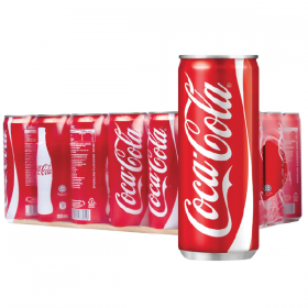Coca Cola can 330ml.