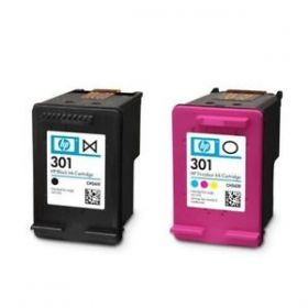 CH563EE HP 301 Combo 2-Pack Original Ink Cartridge
