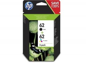 N9J71AE HP 62 Combo 2-Pack Original Ink Cartridge